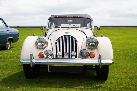Photograph of Morgan vintage english classic car  Stock Photo - 14443390