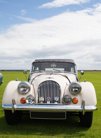 Photograph of Morgan vintage english classic car  Stock Photo - 14443384
