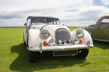 Photograph of Morgan vintage english classic car  Stock Photo - 14443392