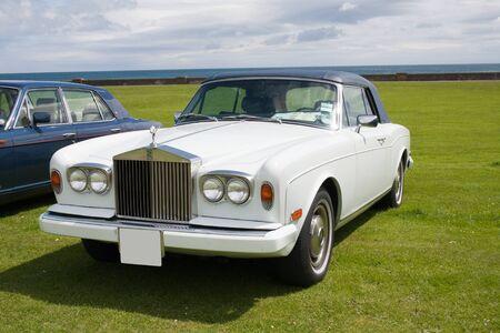 Luxury English Rolls Royce classic car Stock Photo - 14565147
