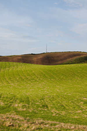 spaciousness: Photograph of countryside agriculture view