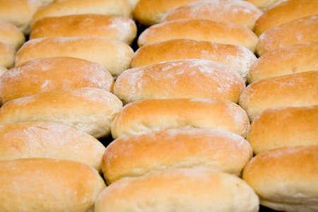Homemade white bread background Stock Photo