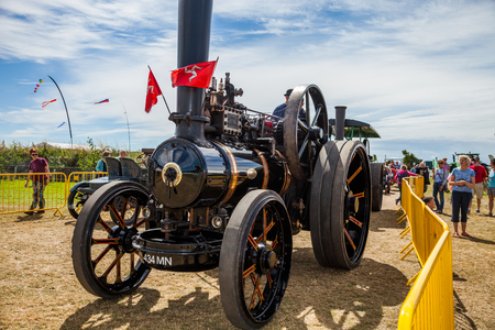 steam traction: Steam Traction vehicle on Manx Southern Agricultural Show taken on 31.7.2016 near old Isle of Man capital- Castletown.