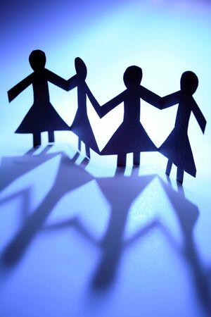 manos unidas: Las mujeres junto Unidos