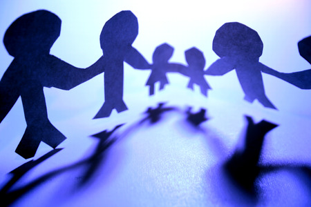 manos unidas: Equipo que lleva a cabo las manos
