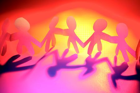 friend nobody: Team holding hands