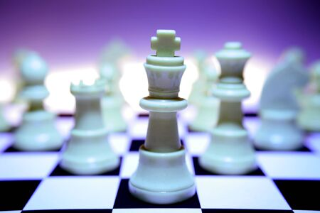 Chess pieces Stock Photo - 1598365