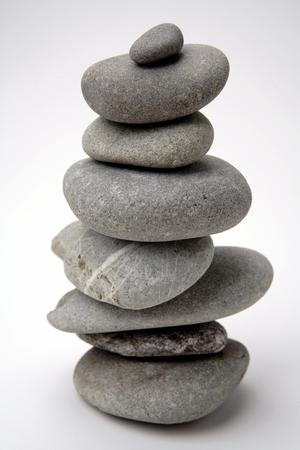 Stones balancing photo