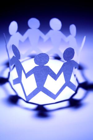 manos unidas: Equipo de reuni�n
