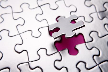 Last piece of puzzle Stock Photo - 1639218