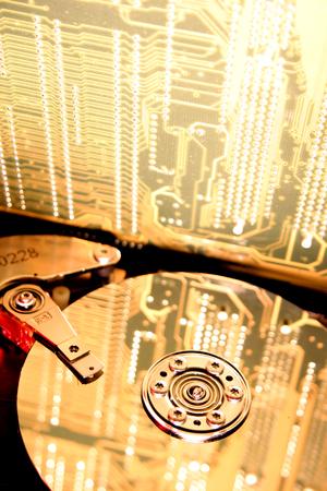 Computer hard-drive photo