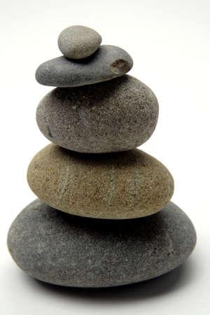 Stones stacked Stock Photo - 1647289