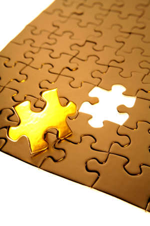 Final piece of puzzle Stock Photo - 1795684
