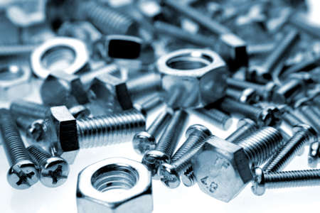 Nuts and bolts Stock Photo - 2101030