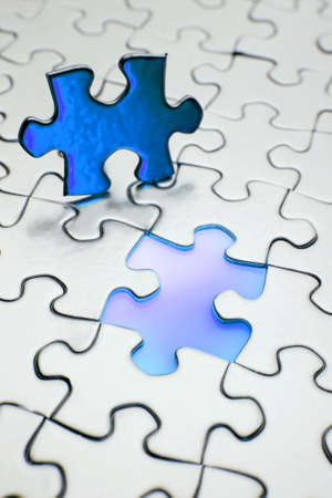 Last piece of puzzle Stock Photo - 2145260