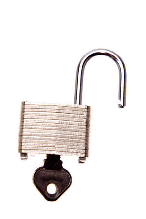 Open lock photo