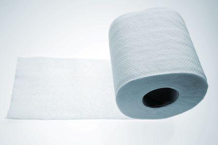 Toilet paper tissue Stock Photo - 2154663