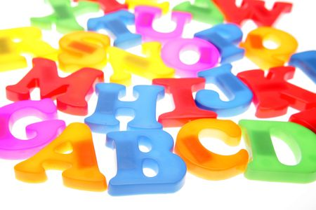 Colorful alphabet letters Stock Photo - 2165584
