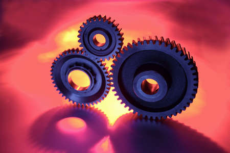 Three cogs together photo