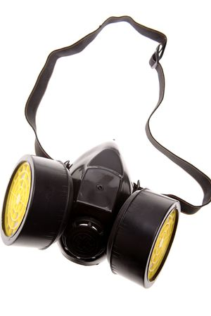 Respirator over white Stock Photo - 2193320