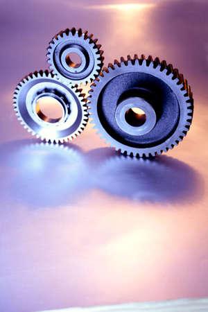 Three cogwheels Stock Photo - 2196948