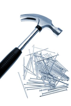 Hammer and nails photo