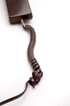 Telephone over white photo