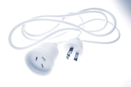 Electrical power cord Stock Photo - 2309592