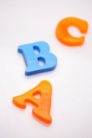 ABC letters Stock Photo - 2318793