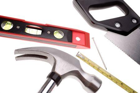 Tools over white Stock Photo - 2349152