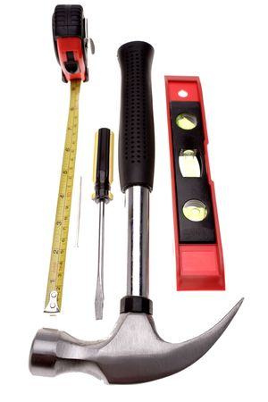 Tools over white Stock Photo - 2349142