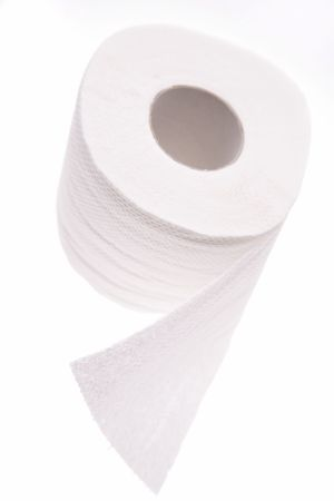 Toilet paper roll Stock Photo - 2382436