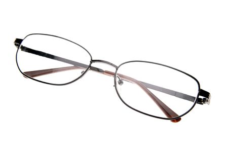 Glasses isolated over white photo