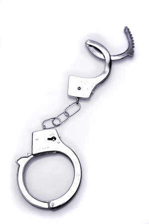 restraints: Handcuffs  Stock Photo