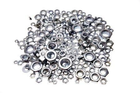 Metal nuts photo