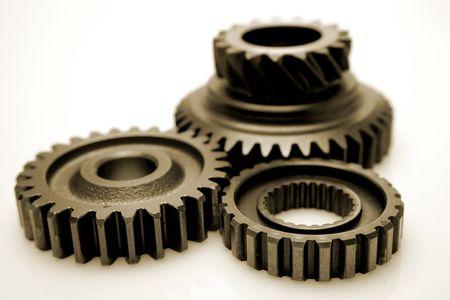 Metal gears Stock Photo - 2714201