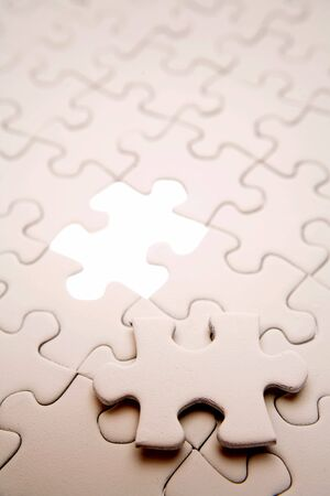 Missing piece of puzzle Stock Photo - 2751590