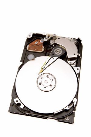 harddrive: Computer hard-drive isolated on white background