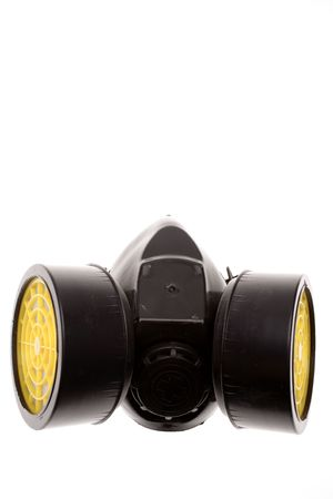 Respirator isolated on white background Stock Photo - 2801354