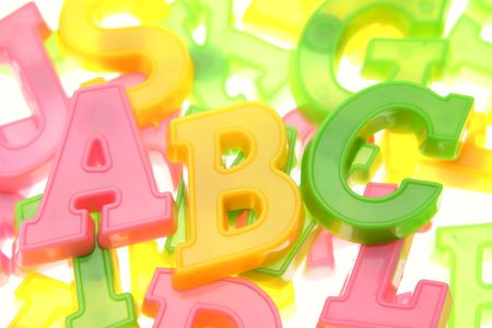 Alphabet letters  Stock Photo - 2908199