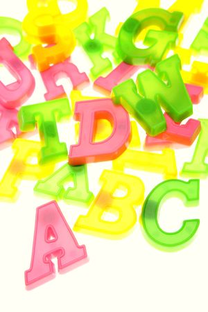 Alphabet letters Stock Photo - 2953727