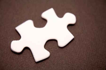 Jigsaw puzzle piece photo