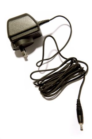 Plug and cable on white Stock Photo - 3091131