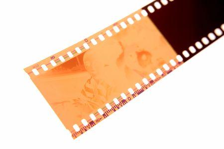 porno: Filmstrip su bianco