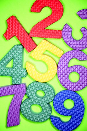 Numbers Stock Photo - 3262051