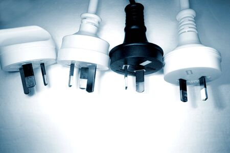 Electrical plugs Stock Photo - 3271630