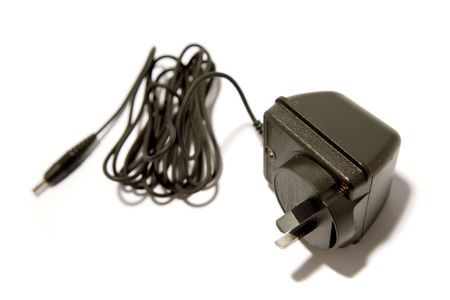 Plug and cable on white Stock Photo - 3281054