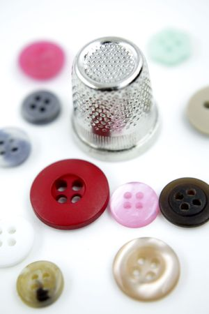 thimble: Buttons and thimble