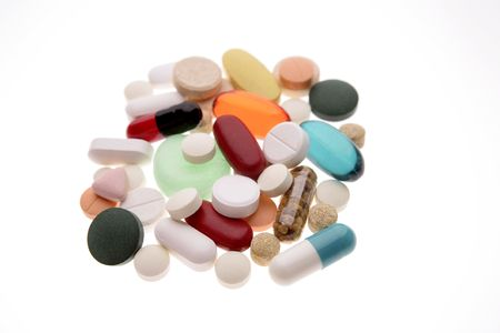 Assorted pills and tablets  photo