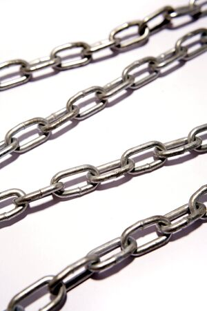 chainlinks: Steel chains